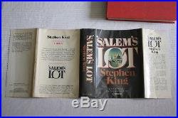 Stephen King (1975)'Salem's Lot', SIGNED first edition, first printing