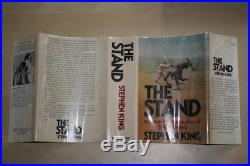 Stephen King (1978)'The Stand', US signed first edition 1/1