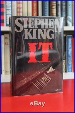 Stephen King (1986)'IT', signed first edition 1/1