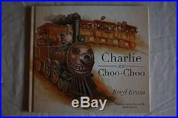 Stephen King (Beryl Evans), TRUE FIRST EDITION'Charlie the Choo Choo', SIGNED