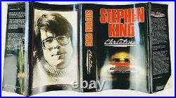 Stephen King Christine First UK Edition Signed