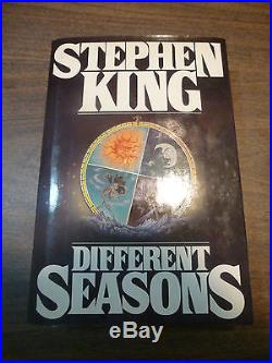 Stephen King,'Different Seasons' SIGNED first edition, Shawshank, Stand by Me