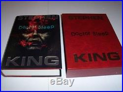 Stephen King Doctor Sleep Signed & double-remarqued first US LIMITED Edition