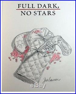 Stephen King FULL DARK STARS Signed Jill Bauman Remarqued Limited First Edition