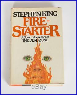 Stephen King Firestarter First Edition (Signed 7/9/83) $13.95 VIKING Autographed