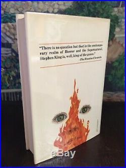 Stephen King Firestarter TRUE First Edition SIGNED (8/13/80) $13.95 VIKING