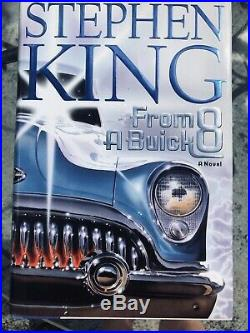 Stephen King From A Buick 8 Signed Autographed 1st Edition Mint