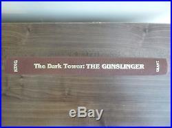 Stephen King,'Gunslinger' first edition 1st/1st signed, Dark Tower