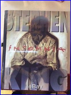 Stephen King INSOMNIA Signed Limited First Edition, Leather Bound Illustrated VF