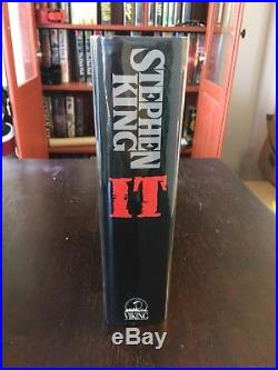 Stephen King IT TRUE First Edition SIGNED INSCRIBED (9/13/86) $22.95 VIKING