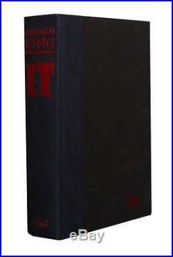 Stephen King IT Viking, 1986, UK Signed First Edition