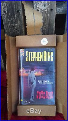 Stephen King / Joyland 2013 SF Fantasy Horror Signed First Edition