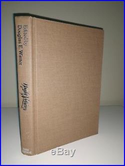 Stephen King SIGNED ful page inscription Dark Harvest 1st edition date inscribed