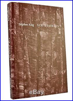 Stephen King SIX STORIES Signed Limited First Edition Tray-case Low 52 Very Fine