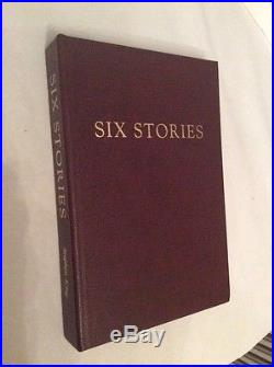 Stephen King SIX STORIES Signed Limited First Edition Traycased