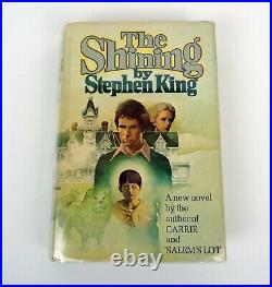 Stephen King Signed Autograph The Shining 1st Edition/1st Print R49 HC Book