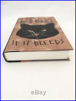 Stephen King Signed Autographed First 1st Edition If It Bleeds Hardcover Hc Book