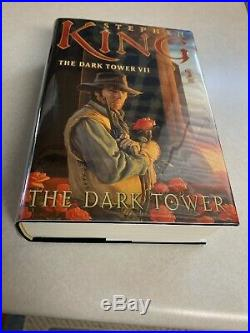 Stephen King Signed Dark Tower VII book. This is a Fine/Fine 1st edition, unread