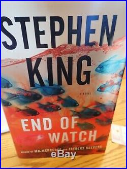 Stephen King Signed End Of Watch First Edition W Ticket Stub 6/13/2016 Unread