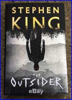 Stephen King Signed First Edition The Outsider 1st/1st Hardcover Book Coa Proof