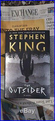Stephen King Signed The Outsider Autograph First Edition 14 Printing