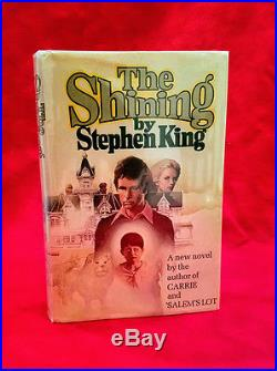 Stephen King Signed The Shining First Edition First Printing RARE