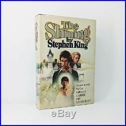 Stephen King The Shining First Edition Signed & Inscribed