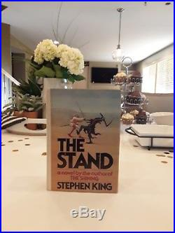 Stephen King, The Stand. SIGNED First Edition. Gutter Code T39