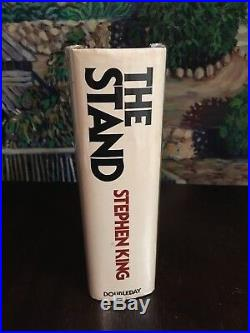 Stephen King The Stand TRUE First Edition SIGNED 11/10/97 $12.95 (T39) DOUBLEDAY