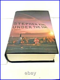 Stephen King Under The Dome Signed First Edition HCDJ