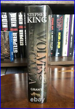 Stephen King Wolves of the Calla Ltd. Artist Signed First Edition Like New