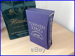 Stephen King uk Signed First Limited Edition Under The Dome + 27 Cards