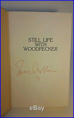 Still Life With Woodpecker by TOM ROBBINS 1980 SIGNED First Edition First Print