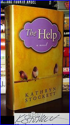 Stockett, Kathryn THE HELP 1st Edition First Printing SIGNED