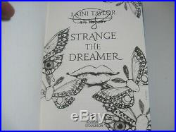 Strange the Dreamer Signed 1st first edition with blue edges Laini Taylor
