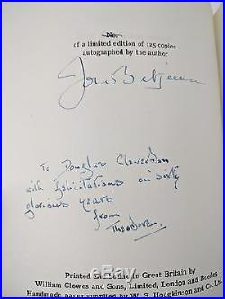 Summoned by Bells John Betjeman First Edition Signed Limited 1st/1st