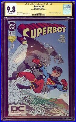 Superboy #9 CGC 9.8 SS DC UNIVERSE DCU logo 1st King Shark Variant Suicide Squad