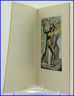 T. S. ELIOT SIGNED FIRST EDITION ILLUSTRATED NEAR FINE Ariel Poem #23 UK 1929
