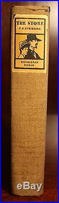 T. S. Stribling 1933 The Store SIGNED First Edition Third Printing Pulitzer