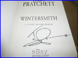 TERRY PRATCHETT SIGNED UK FIRST EDITION HARDCOVER 1/1 x 10