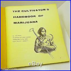 THE CULTIVATOR'S HANDBOOK OF MARIJUANA 1970 by Bill Drake First Edition Revised