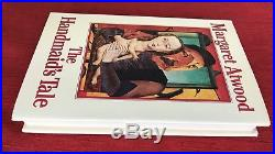 THE HANDMAID'S TALE by Margaret Atwood. SIGNED First Canadian Edition