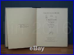 THE HUMS OF POOH First Signed Edition, A A Milne, E H Shepard, Fraser-Simson