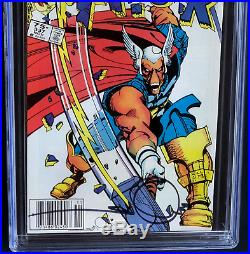 THOR #337 CGC 9.6 WP Canadian 75 CENT VARIANT + SIGNED! 1st Beta Ray Bill