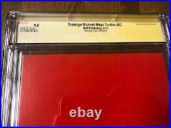 TMNT #95 SDCC Variant Signed Eastman & Waltz CGC SS 9.8 First Jennika Ltd 200