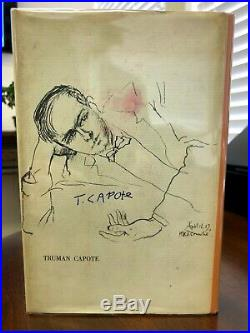 TRUMAN CAPOTE Breakfast at Tiffany's SIGNED FIRST EDITION (1958) Certified