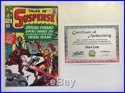 Tales Of Suspense #52 German Euro Variant Signed Stan Lee 1st Black Widow App