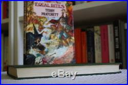 Terry Pratchett (1987)'Equal Rites', signed first edition 1/1, Discworld