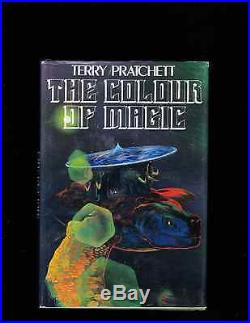 Terry Pratchett. Colour Of Magic. Signed. First Edition Hb With Dj. Nice Copy