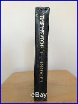 Terry Pratchett Dodger, signed, first edition, stamped, numbered, dust cover